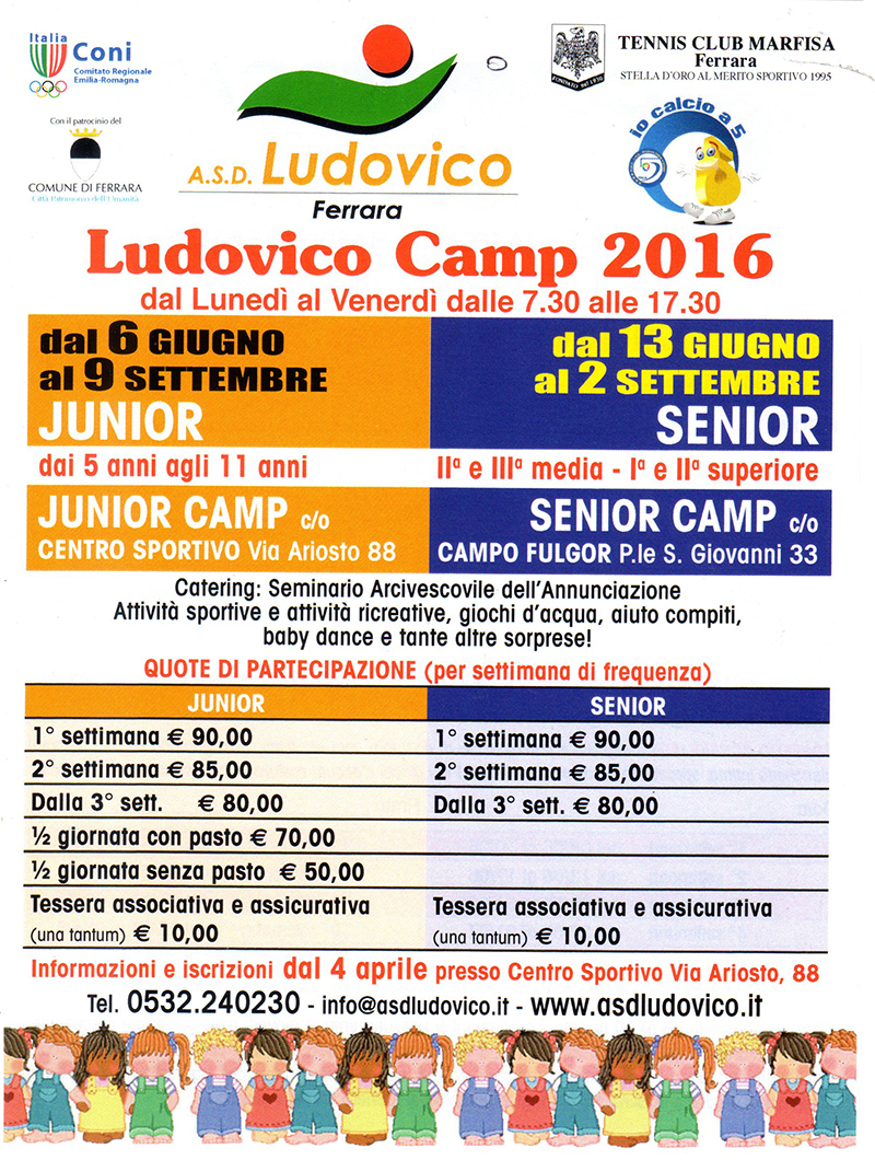 flyer ludovico camp 2016